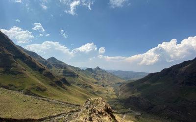 Monks Cowl, Drakensberg Mountains. SOUTH AFRICA