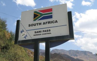 Sani Pass, Drakensberg Mountains. SOUTH AFRICA