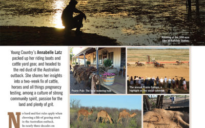Farming in the Outback. AUSTRALIA