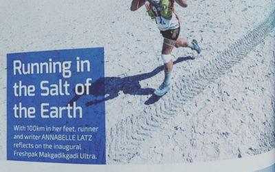 Salt Pans Ultra – Botswana's inaugural stage ultra marathon race. BOTSWANA