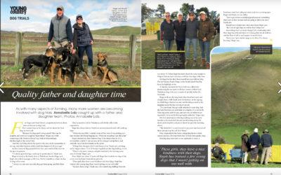 National Sheep Dog Trials – Tweed Family. NEW ZEALAND