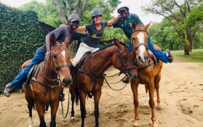 Bushman Rock Safaris  – the final farewell. ZIMBABWE