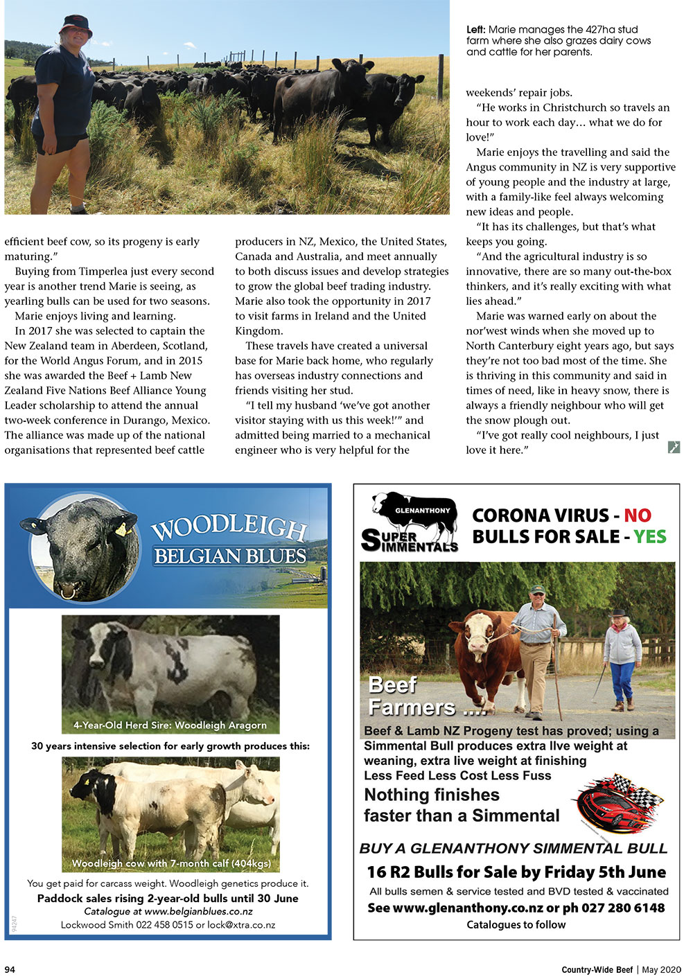 Cattle breeding life sizzling | With Belles On