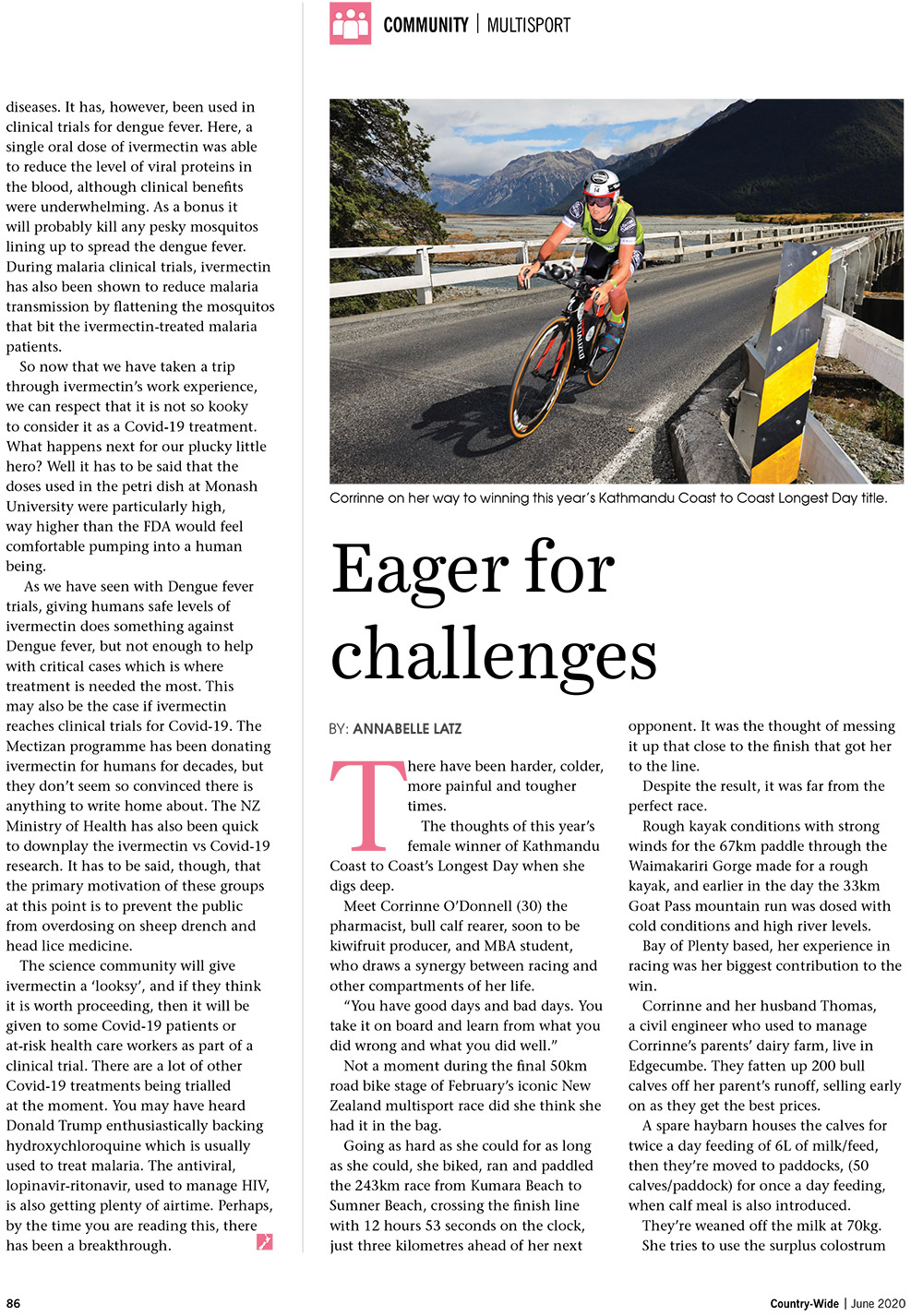 Eager for Challenges | With Belles On
