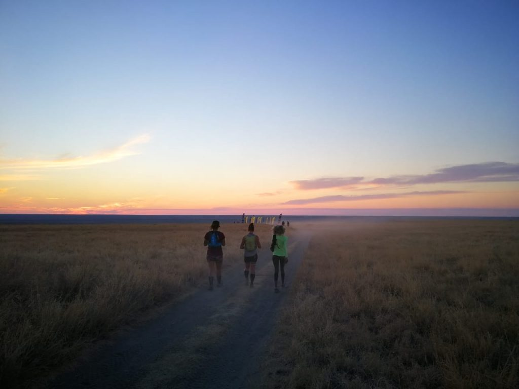 Running on a moonscape | With Belles On