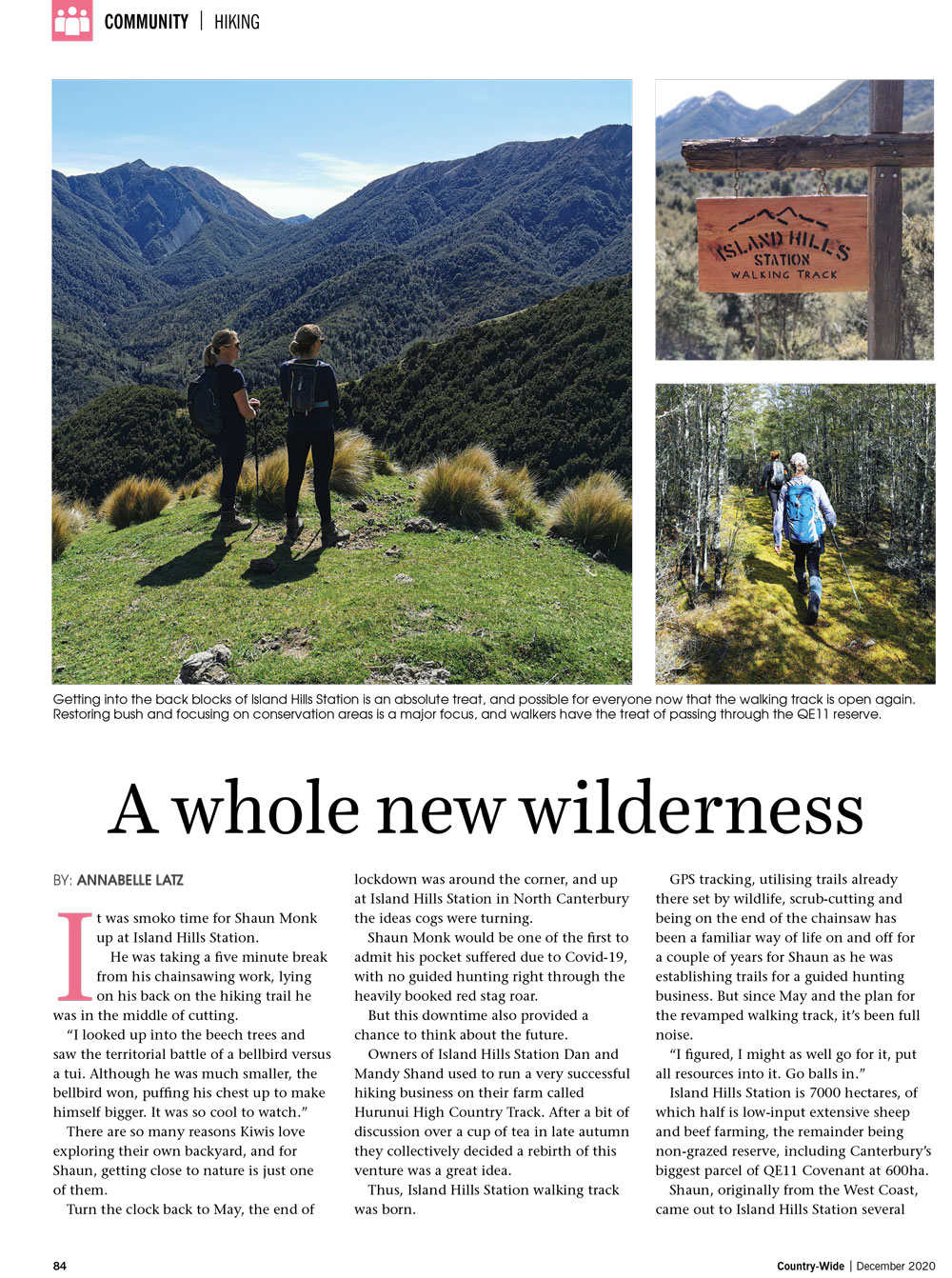 A whole new wilderness | With Belles On