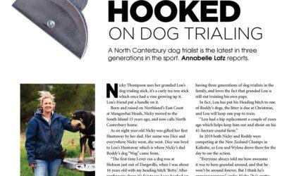 Hooked on Dog Trialing. New Zealand