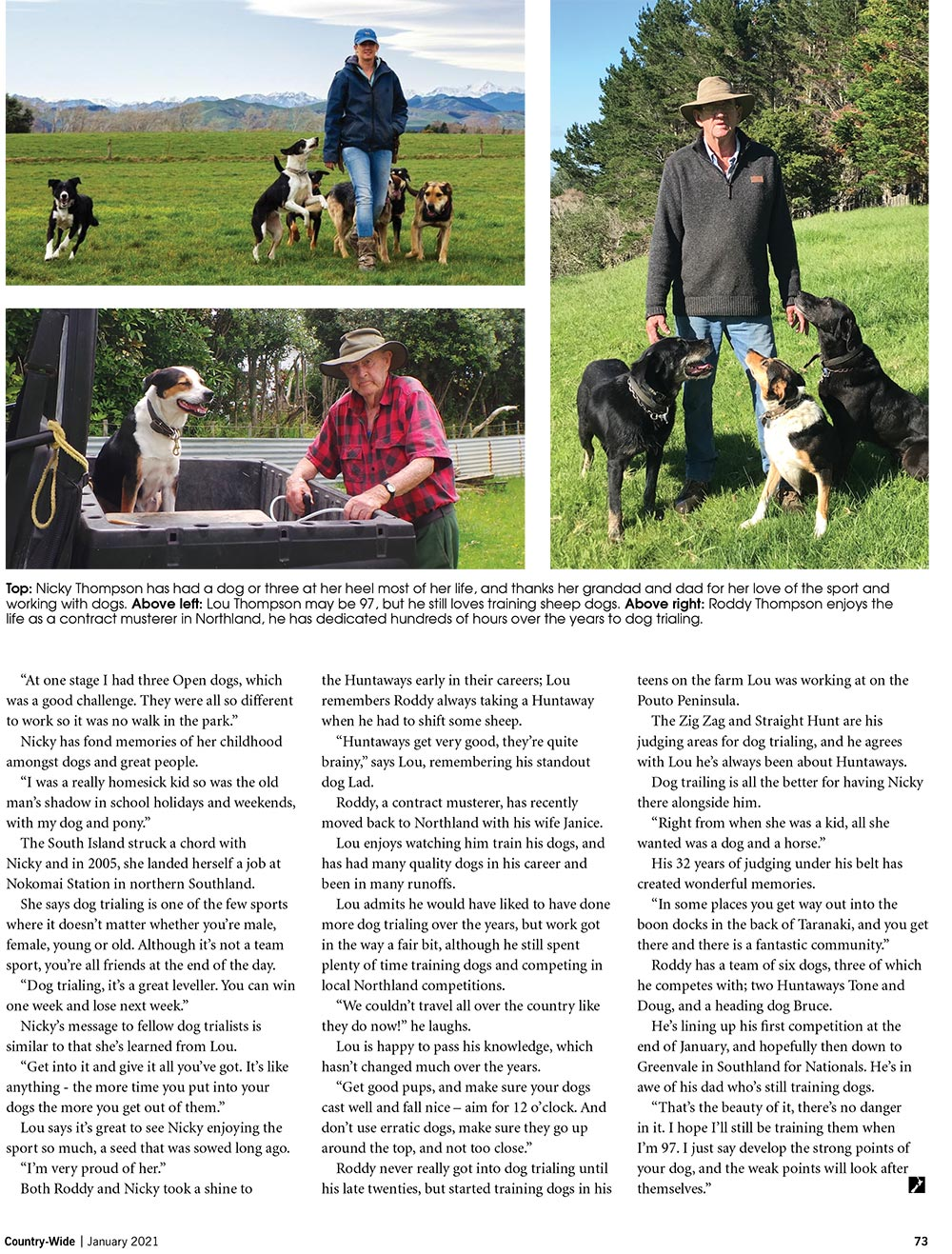 Hooked on Dog Trialing | With Belles On