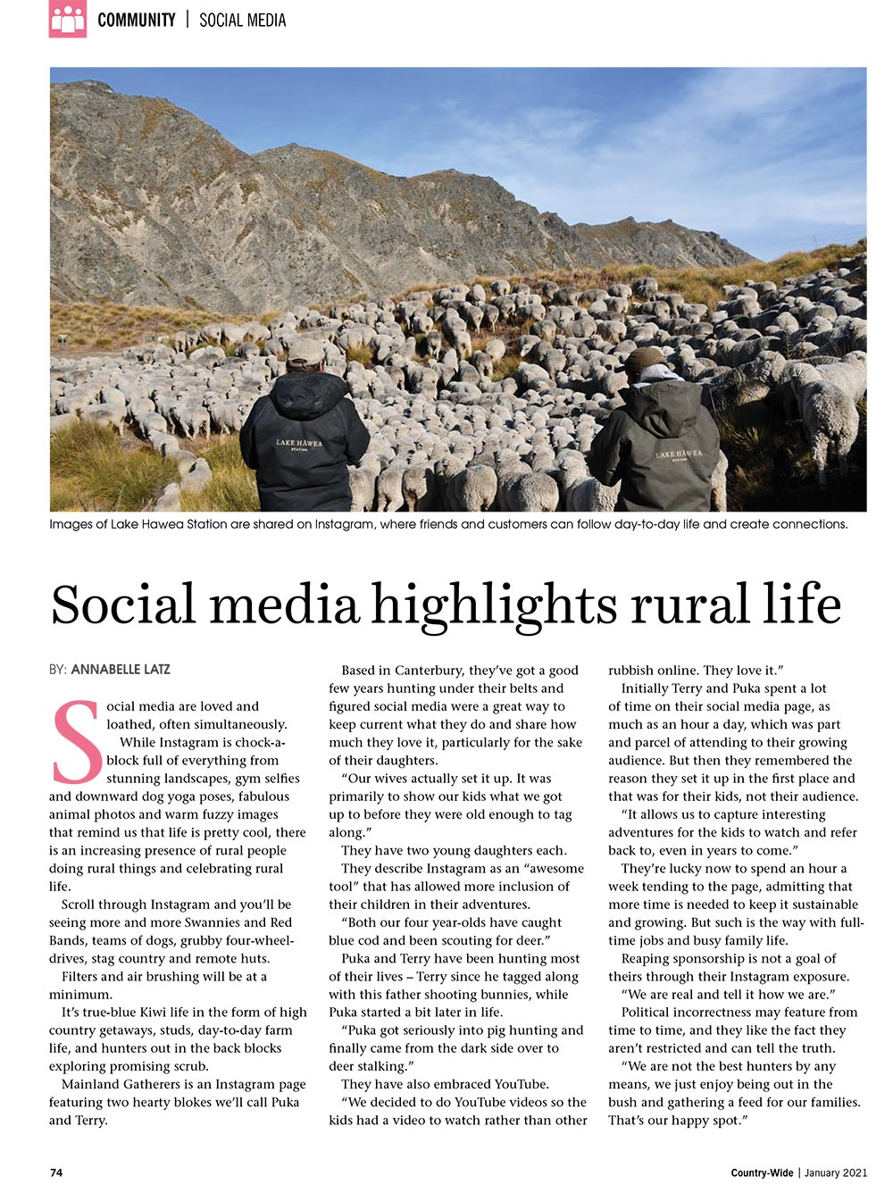 Social media highlights rural life | With Belles On