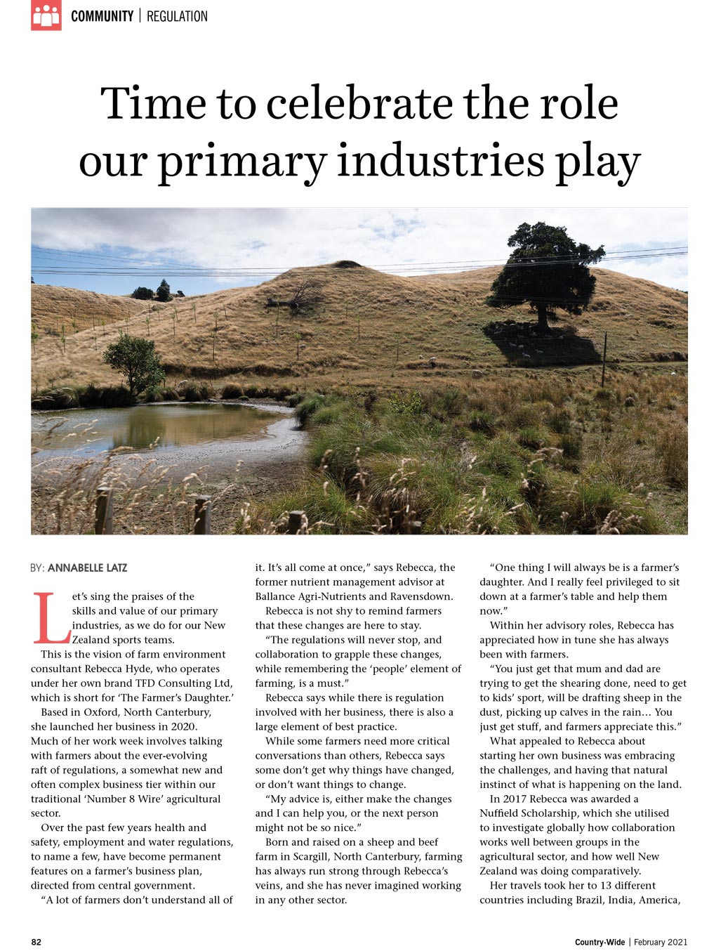 Time to celebrate the role our primary industries play | With Belles On